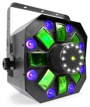 Multi Acis IV - LED with Laser and Strobe 4 In 1 Effect - Wicked ... 7968ab2902