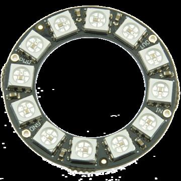 NeoPixel Ring x 12 - Neo Pixel WS2812 5050 RGB LED
