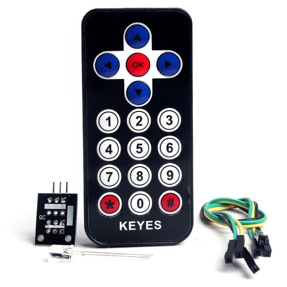 Portable Infrarot IR Wireless Fernbedienung Modul Kits für Arduino  X