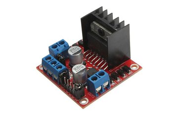 2PCS New Dual H Bridge DC Stepper Motor Drive Controller Board Module L298N