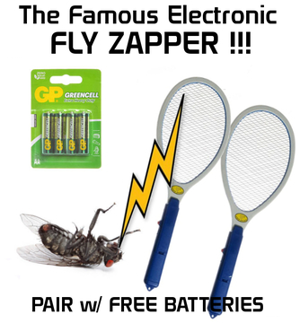 The Famous Electronic Fly Zapper x 2 Buy 2 for $20 - Free